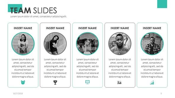 Team Profile Slides