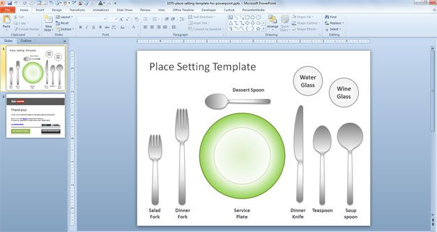 Table Utensil Etiquette