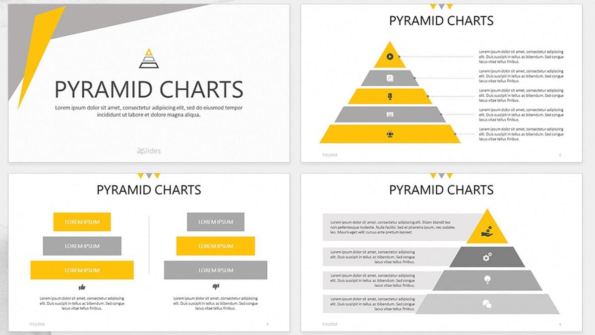 Pyramid Chart Slides