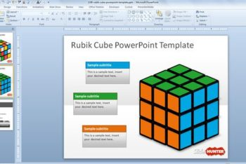 Free Rubik Cube Lesson Powerpoint Template