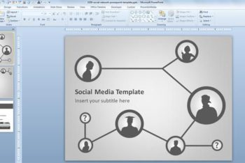 Free Social Network Concept Powerpoint Template