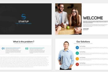 Free Startup Pitch Concept Powerpoint Template