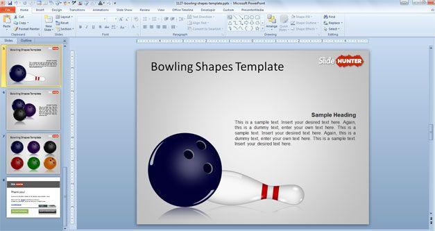 Bowling Tutorial Slide