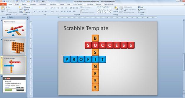 Scrabble Lesson Slide