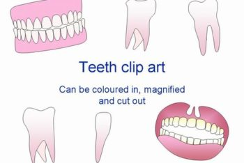 Free Teeth Art Slides Powerpoint Template