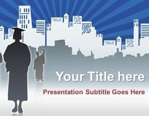 Free Graduate Student Concept Powerpoint Template