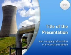 Free Nuclear Energy Plant Powerpoint Template