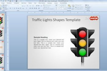 Free Traffic Lights Lesson Powerpoint Template