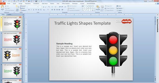 Traffic Lights Lesson