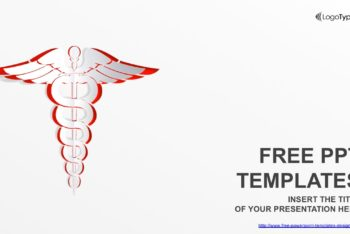 Free Medical Symbol Theme Powerpoint Template
