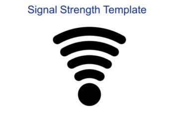 Free Wireless Signal Orientation Powerpoint Template