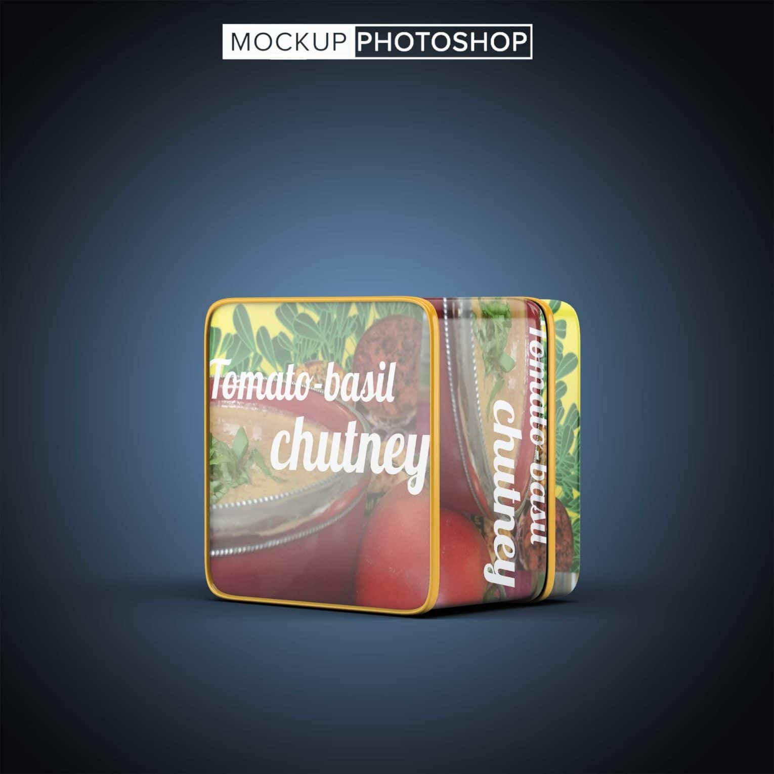 New Tin Can PSD Mockup
