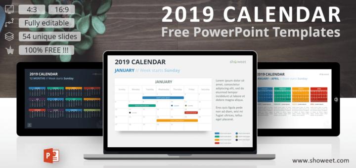 2019 Calendar Slides