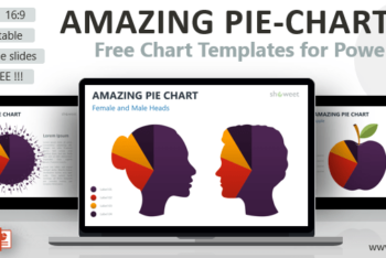 Free Creative Pie Chart Powerpoint Template