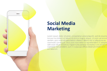 Free Mobile Digital Marketing Powerpoint Template