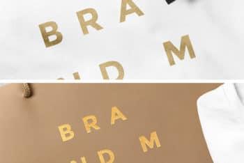 Free Stationery Scene PSD Mockup to Design Beautiful Presentation
