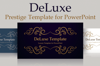 Free Deluxe Style Slides Powerpoint Template