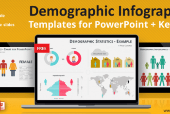 Free Demographics Stats Slides Powerpoint Template
