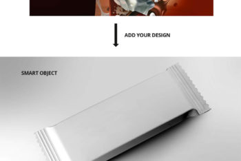 Chocolate Bar PSD Mockup to Create Beautiful Design