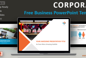 Free Simple Corporate Slides Powerpoint Template