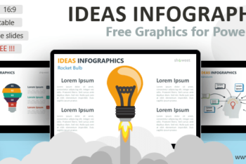 Free Bright Ideas Concept Powerpoint Template