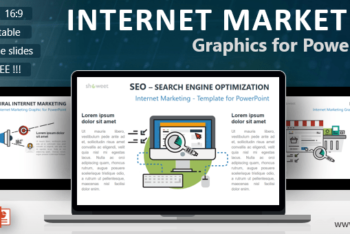 Free Internet Marketing Concept Powerpoint Template