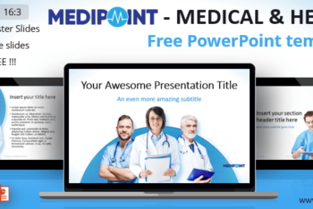 Free Medical Health Help Powerpoint Template