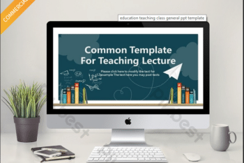 Free Teaching Lecture Slides Powerpoint Template