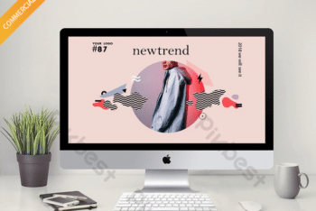 Free Modern Fashion Trend Powerpoint Template