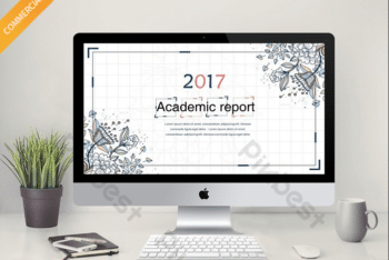 Free Smart Academic Report Powerpoint Template