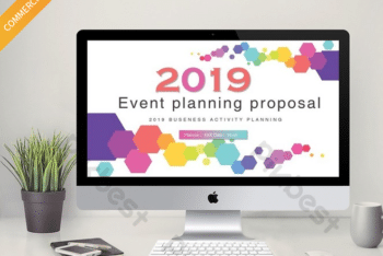 Free Business Event Proposal Powerpoint Template