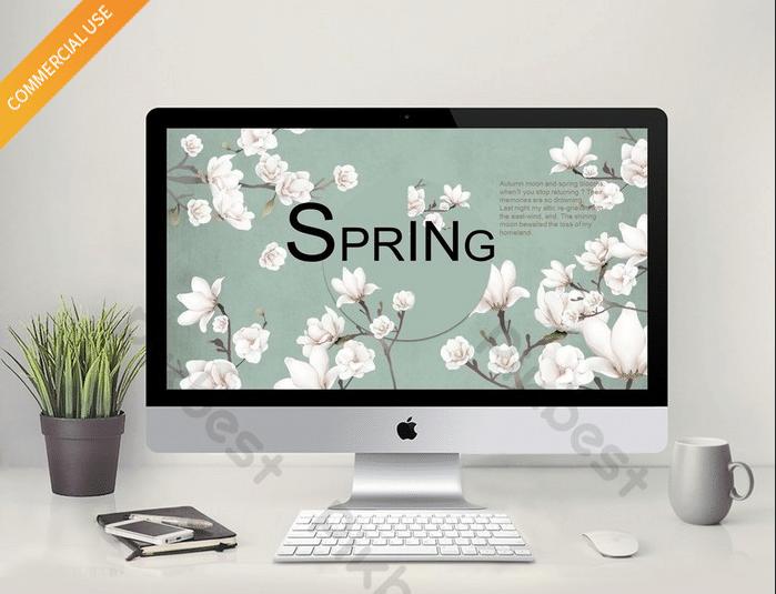 Floral Spring Slides