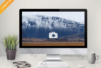 Free Awesome Travel Spots Powerpoint Template