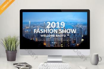 Free Fashion Show Prep Powerpoint Template