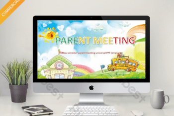 Free Parent Meeting Slides Powerpoint Template