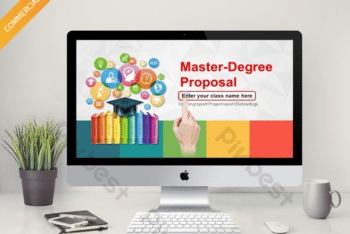 Free Graduate Student Report Powerpoint Template