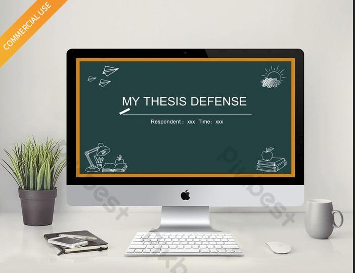 Chalkboard Thesis Defense