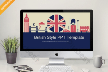 Free British Culture Slides Powerpoint Template