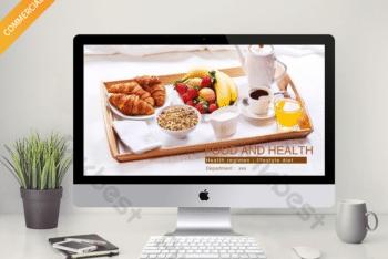 Free Healthy Diet Samples Powerpoint Template