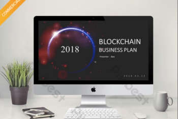 Free Blockchain Business Plan Powerpoint Template