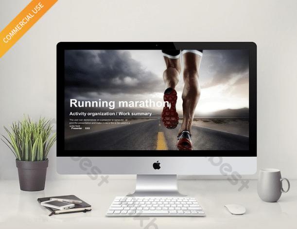 Sports Marathon Slides