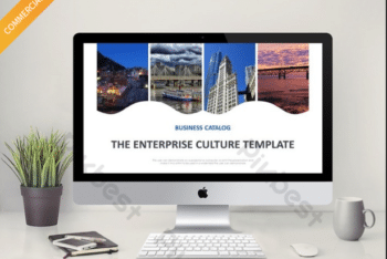 Free Enterprise Culture Slides Powerpoint Template