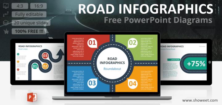 Road Infographics Slide