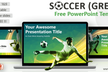 Free Soccer Football Concept Powerpoint Template