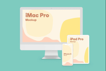 Create Beautiful Presentations for Apple Devices with This Free PSD Mockup