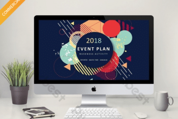 Free Stylish Business Plan Powerpoint Template
