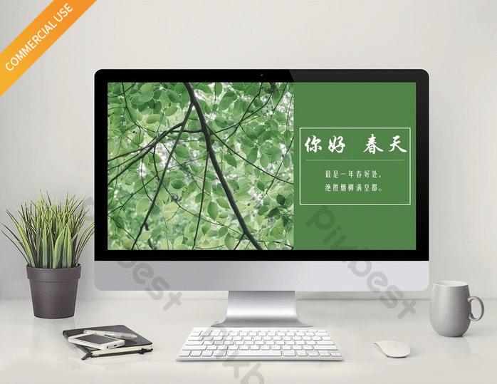 Green Minty Spring