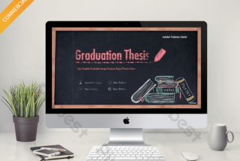 Free Thesis Defense Slides Powerpoint Template