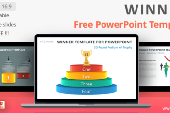 Free Winner Chart Slides Powerpoint Template