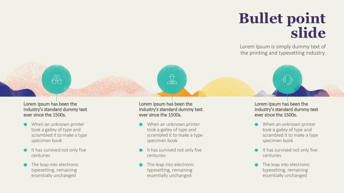Bullet Point Presentation